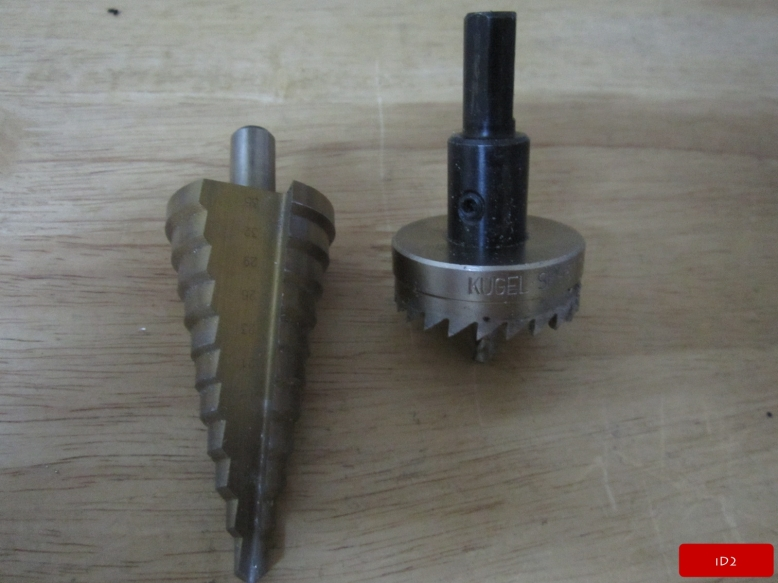 iD2CNC-StepDrill&HoleSaw