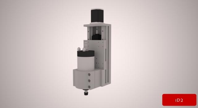 iD2CNC-Z-Axis_XPF30(W700)-YPF40(W520)-ZPF30(W150)_DualAxis-SBR16