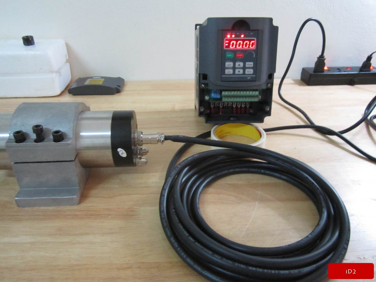 Water Cooled Spindle   Inverter   Custom Add