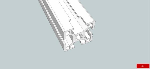iD2CNC-AluminumProfileExtend