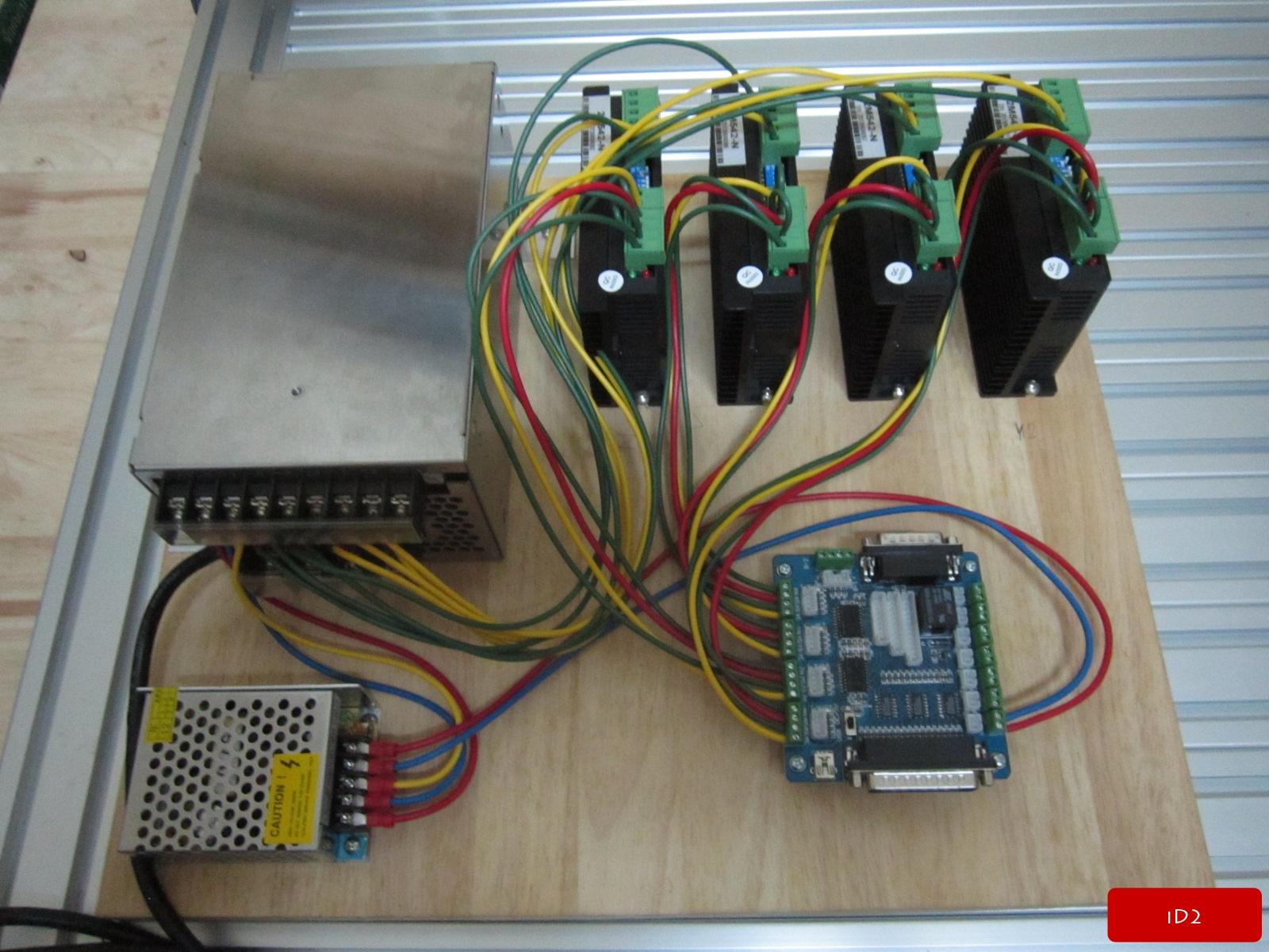 Cnc Electronics Wiring  U2013 Id2cnc