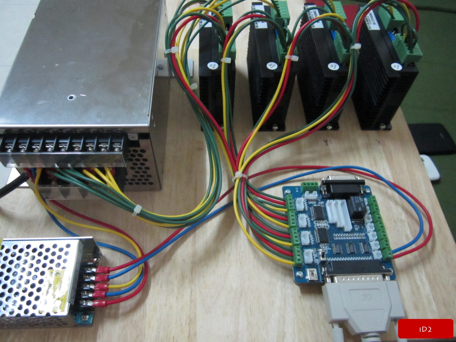 Cnc control box wiring diagram