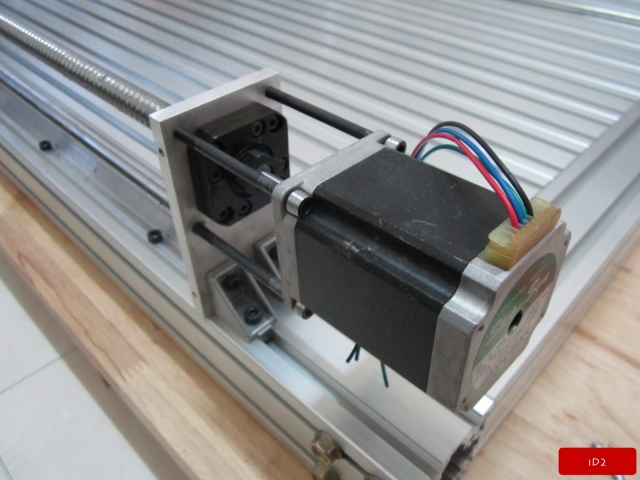 Scratch build low cost cnc working area for Low cost stepper motor