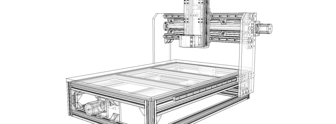 DIY CNC v.1.0 (Full detail)