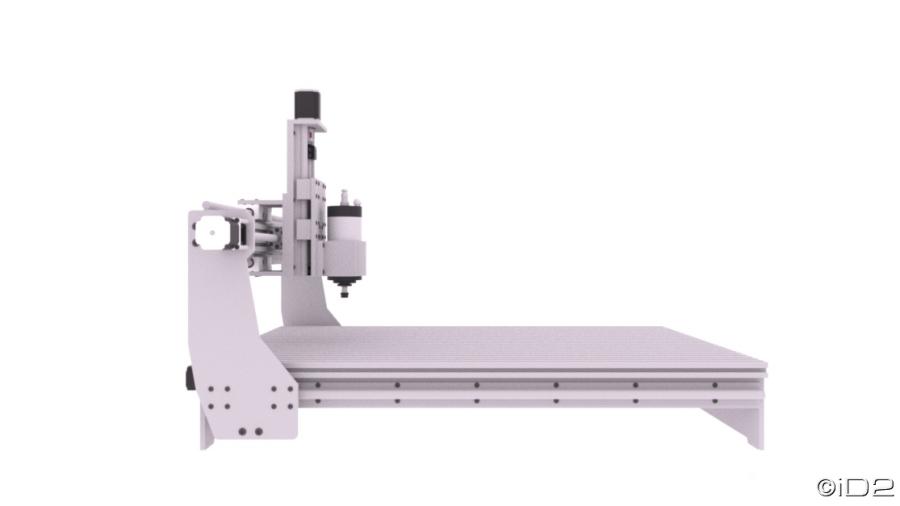 New Machine Build Id2cnc Ss V 1 0 Aluminum Cnc Design